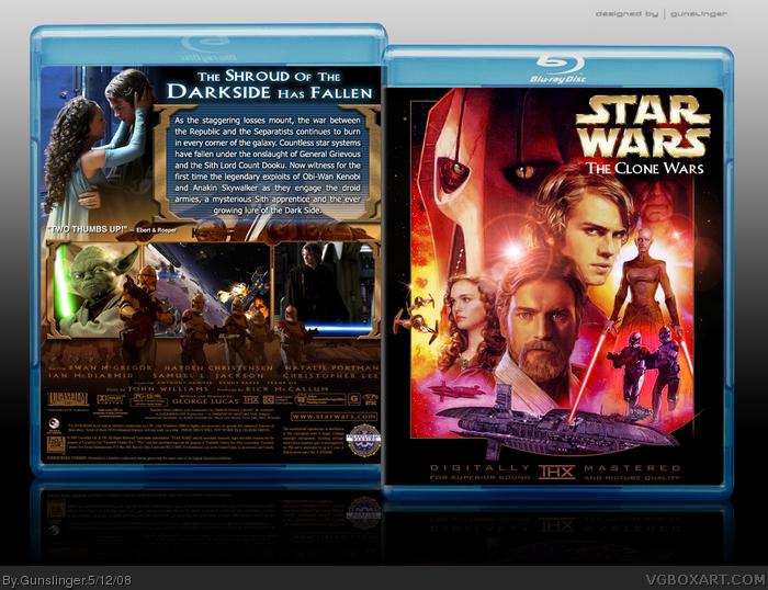 Star Wars The Clone Wars Film Star Wars The Clone Wars Box