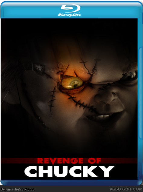 Revenge Of Chucky Movies Box Art Cover By Vjmaster90