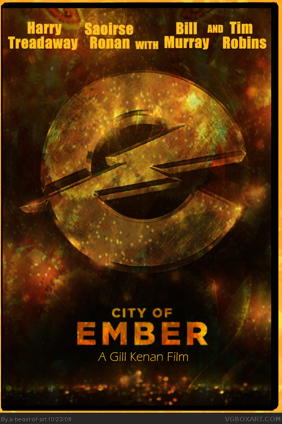 city of ember movies box art cover by a
