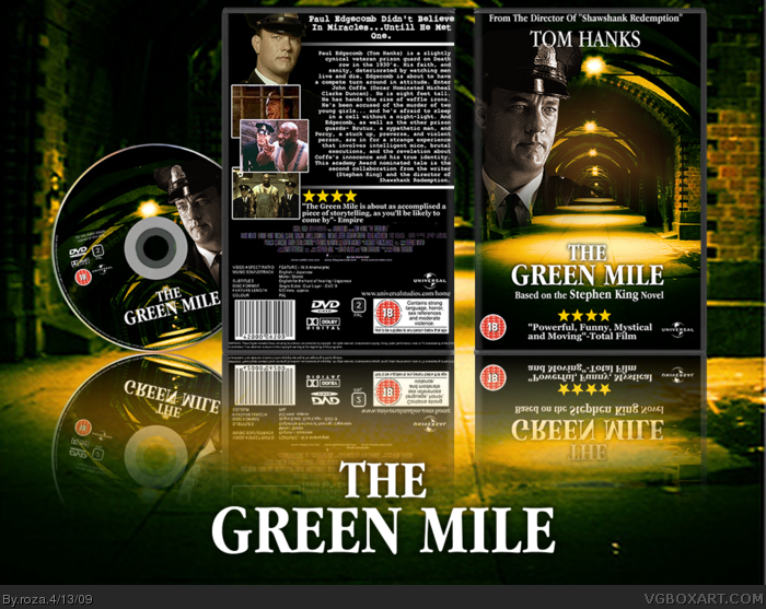 Green Mile Dvd Cover The Green Mile Box Art Cover