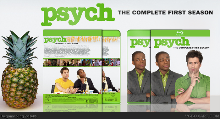 Psych Complete Season 3