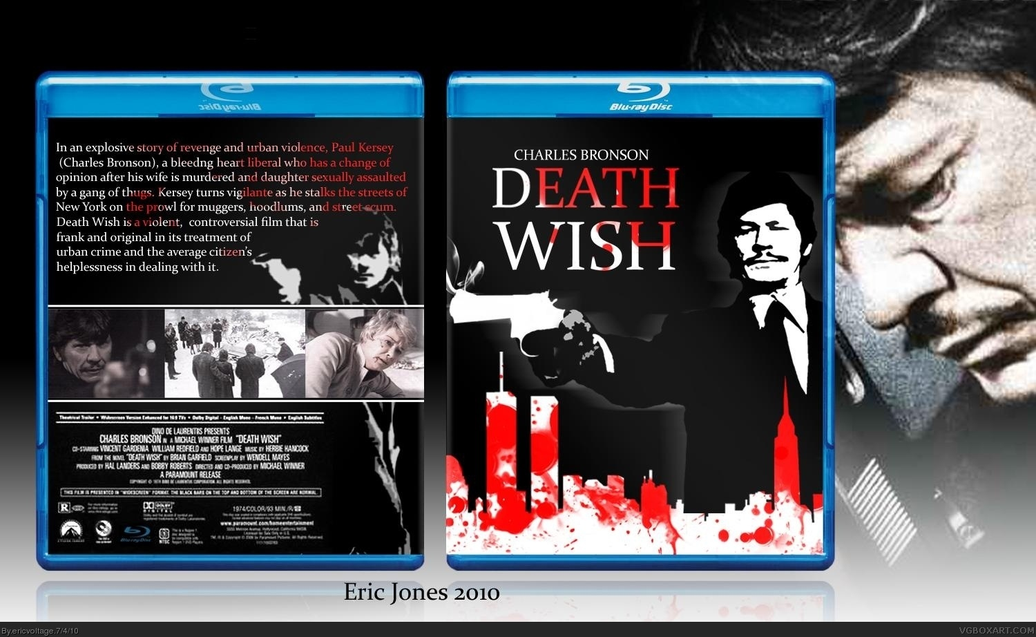 death wish movies box art cover by ericvoltage