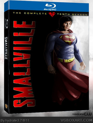 Smallville: Season 10 box cover