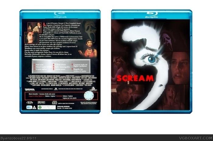 scream 3 Movies Box Art Cover by enzoboss22