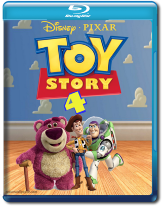 Toy Story 4 Movies Box Art Cover By MarioDude