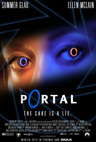 Portal Movies Box Art Cover By Bigmachete