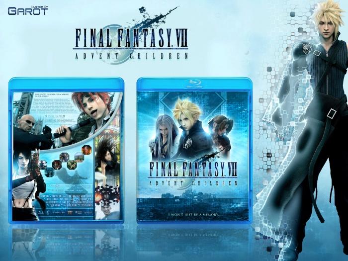 Final Fantasy Vii Advent Children Blu Ray Film Movies Box Art