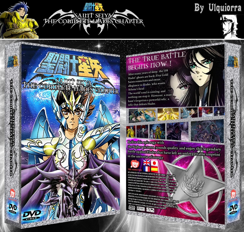 Saint Seiya : Hades Chapter Movies Box Art Cover By Ulquiorra