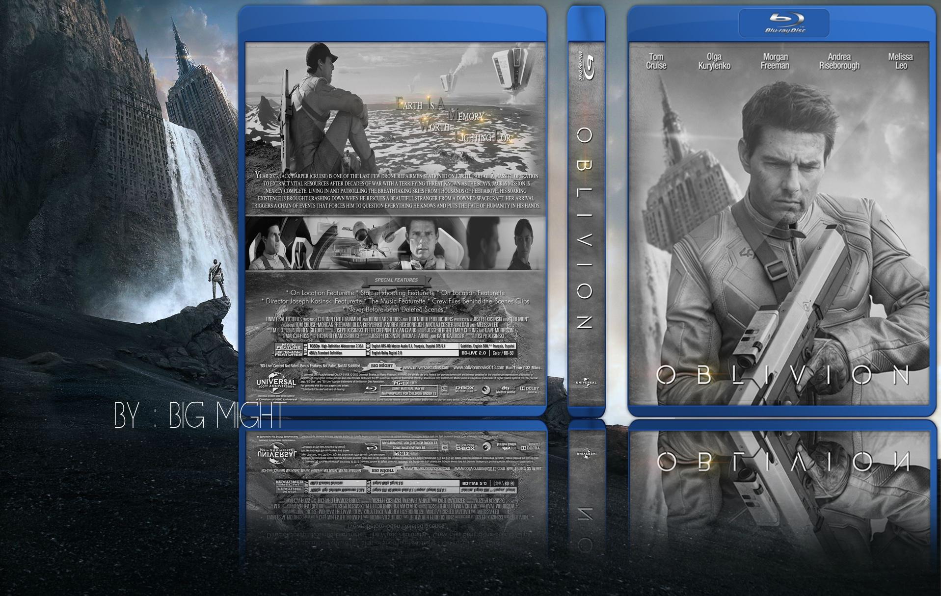 Oblivion Movie Cover Comments Oblivion br Box Cover
