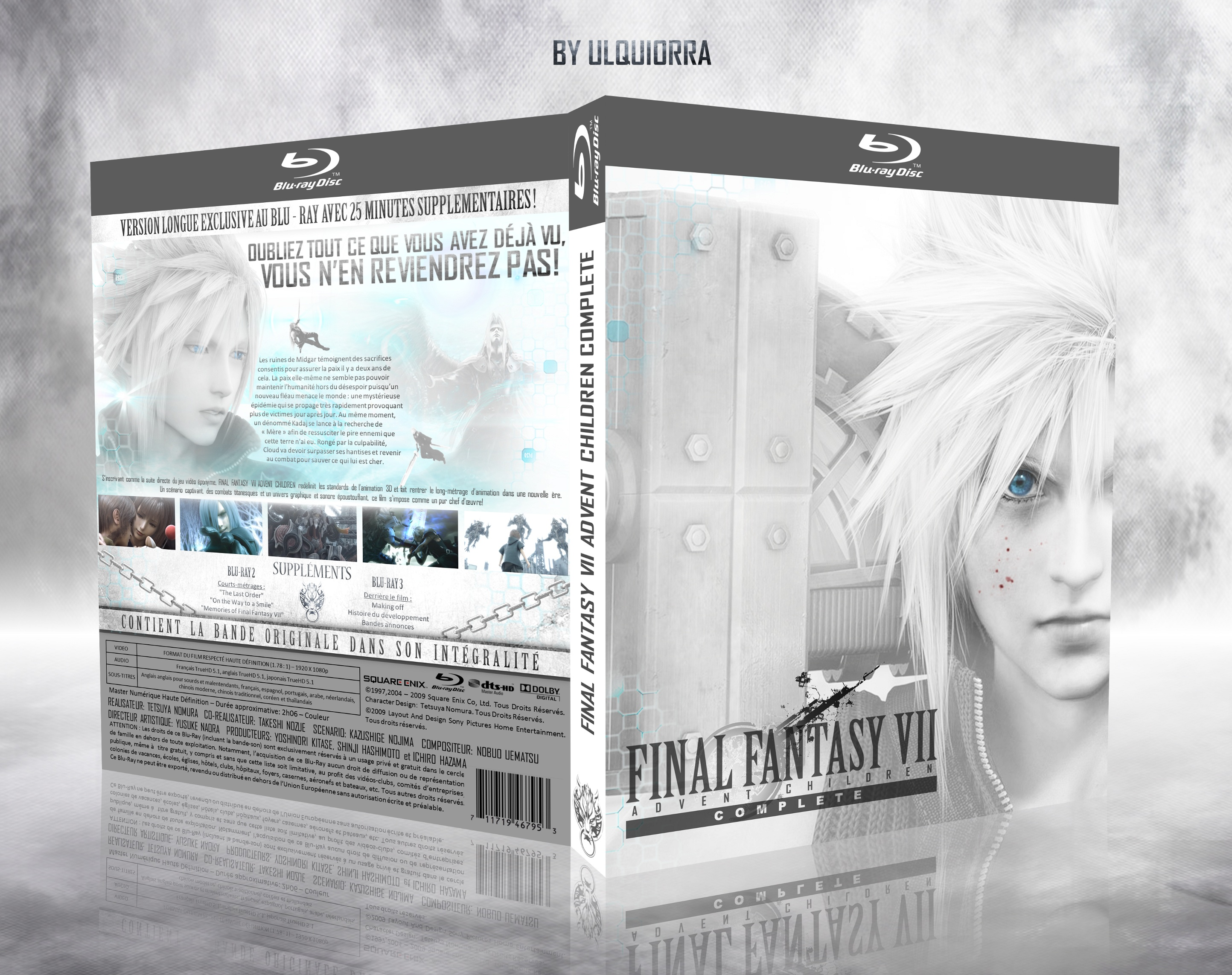 Final Fantasy VII advent children complete box cover