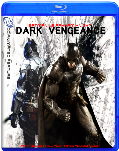 Batman VS Arkham Knight: Dark Vengeance Movies Box Art ...