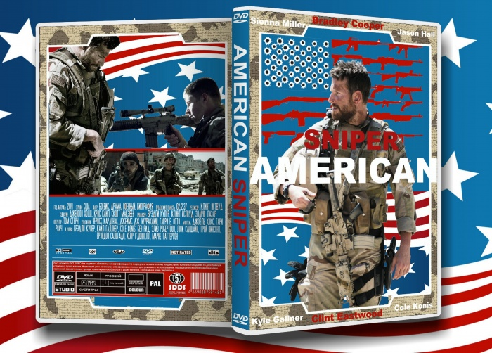 American Sniper Movies Box Art Cover by Max Payne 3