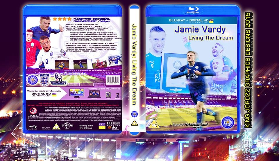 Jamie Vardy: Living the Dream box cover