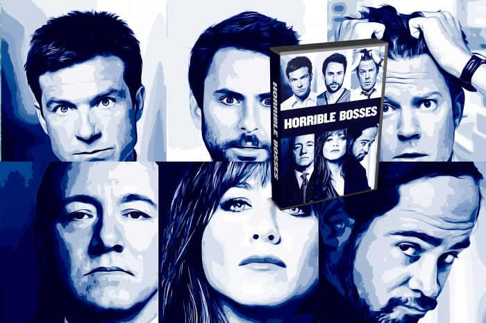 Horrible Bosses box art cover