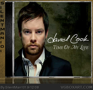 David Cook - Time Of My Life box cover