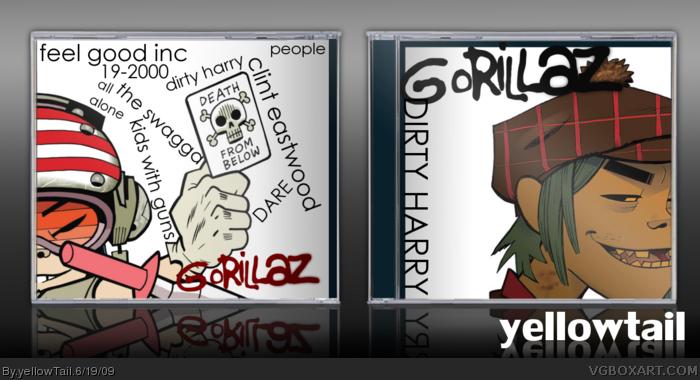 Gorillaz: Dirty Harry Music Box Art Cover by yellowTail
