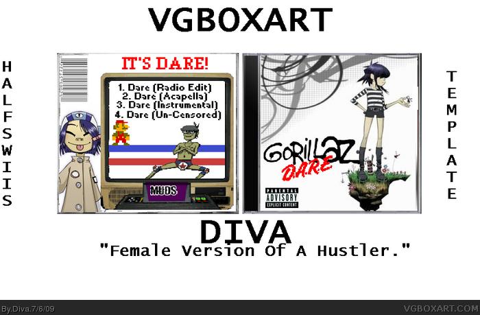 Gorillaz - Dare Music Box Art Cover by Diva