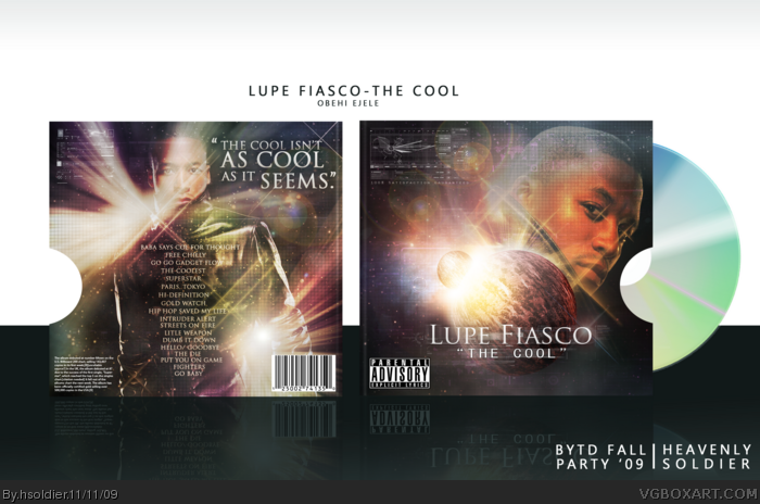 Lupe Fiasco: The Cool box art cover