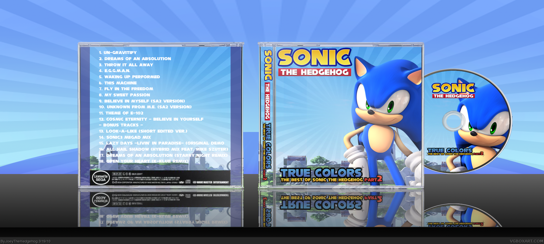 True Colors: Best Of Sonic The...