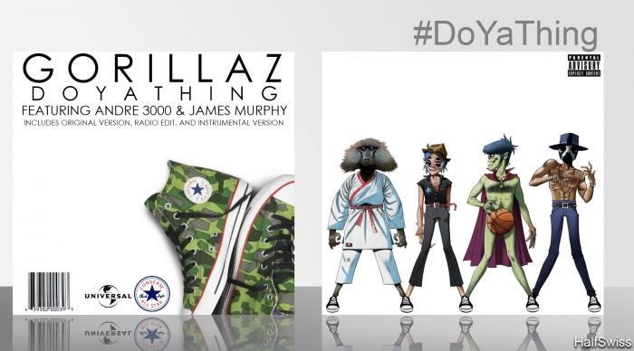 Gorillaz: DoYaThing Music Box Art Cover by HalfSwiss