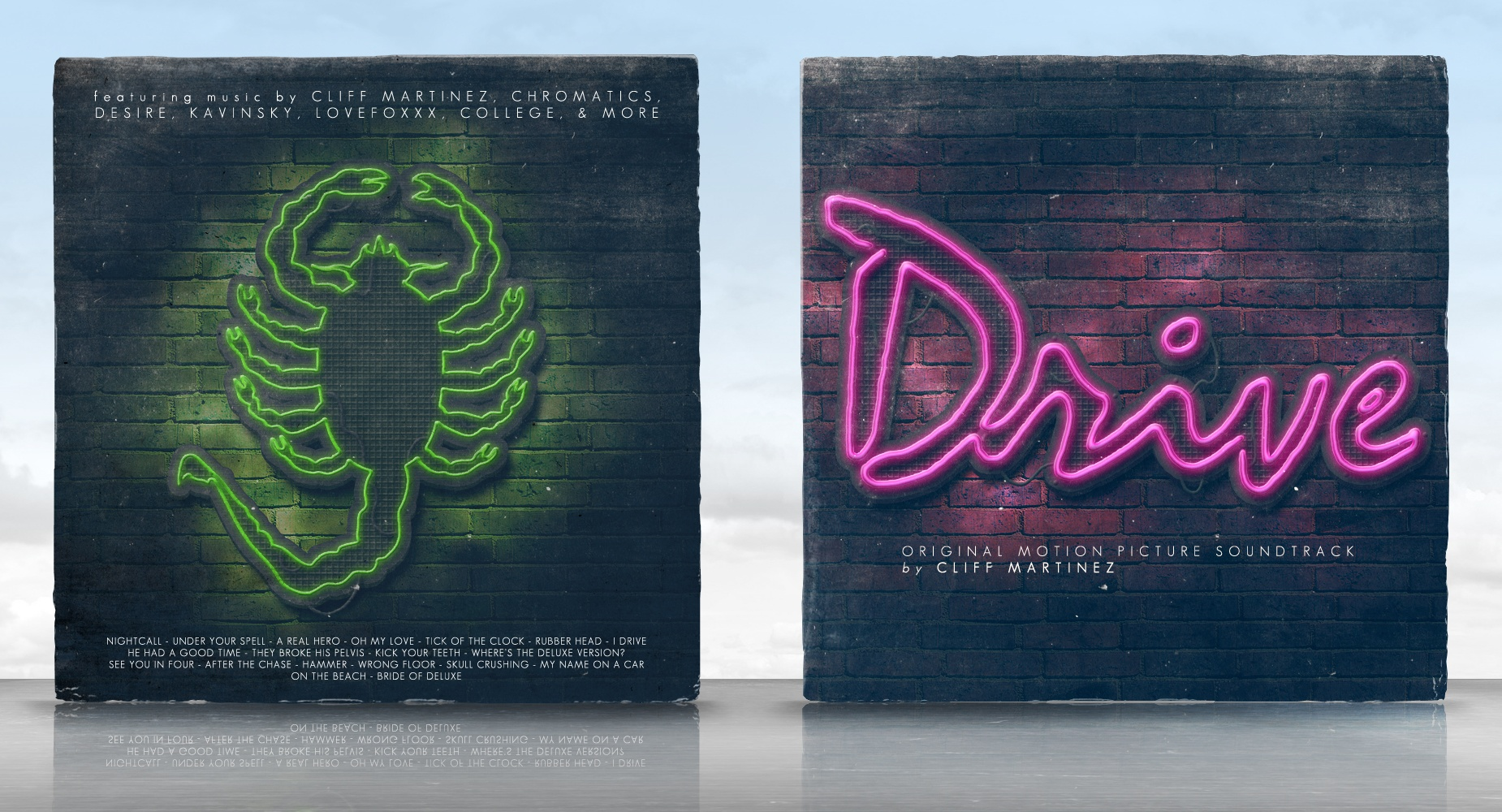 Drive - Original Motion Picture Soundtrack box cover