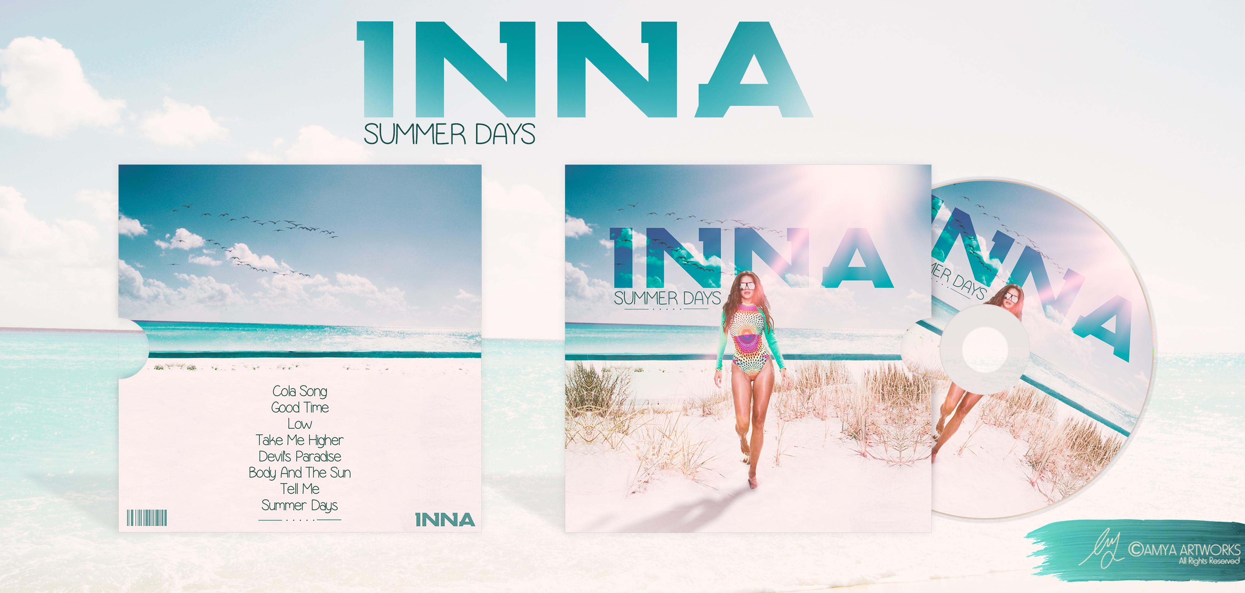 Viewing Full Size INNA SUMMER DAYS Box Cover