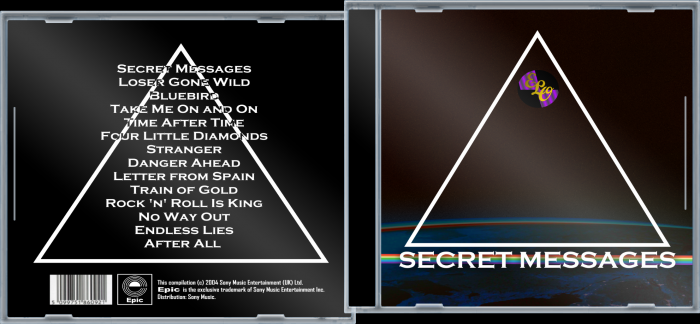 Electric Light Orchestra - Secret Messages Music Box Art ...
