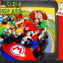 64 Classic: Super Mario Kart Box Art Cover