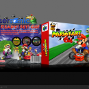 Mario Kart 64 Box Art Cover