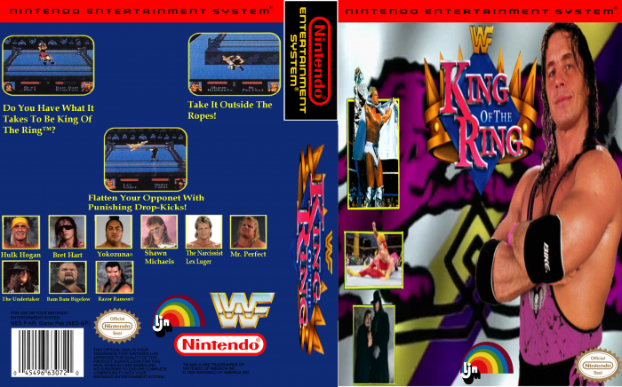 WWF King Of The Ring box art cover