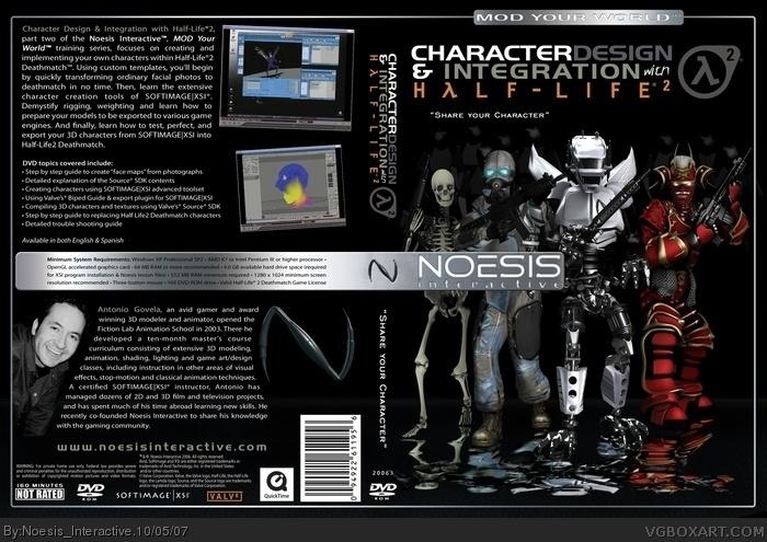 Half - Life 2 Character Design and Integration XSI PC Box Art Cover
