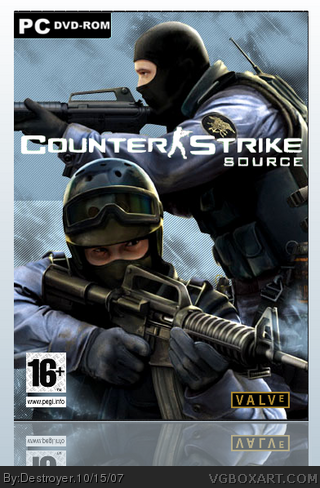 Counter Strike Source Pc Box Art Cover By Destroyer