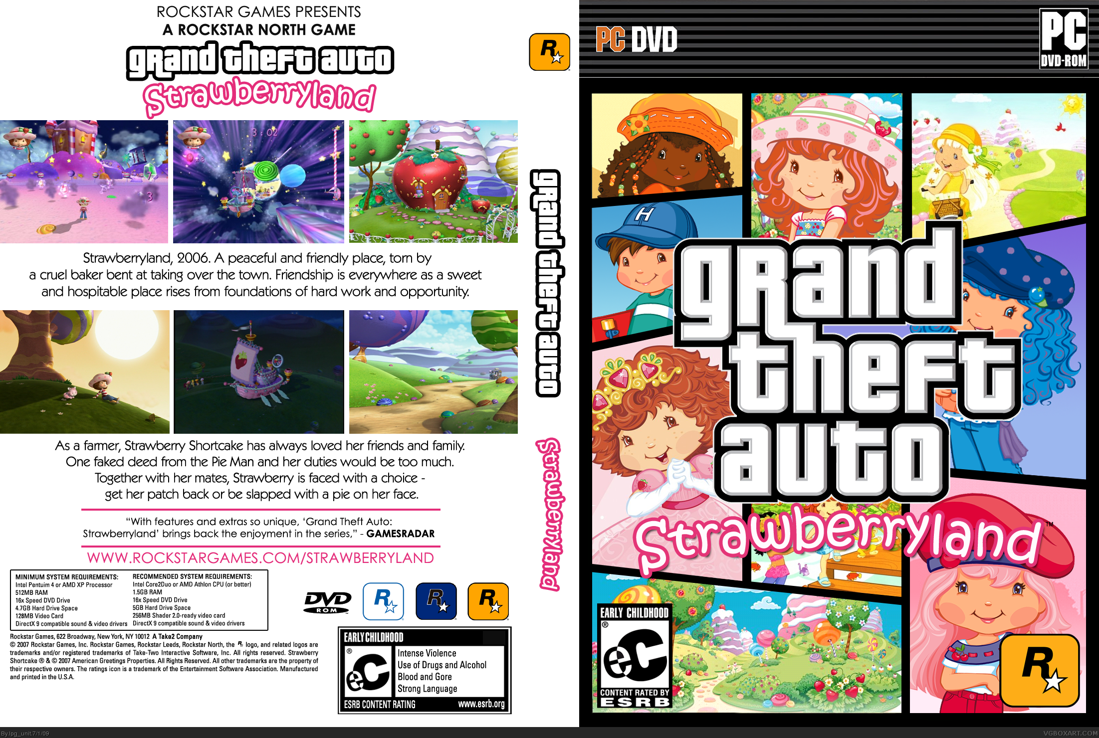 Viewing full size Grand Theft Auto box cover