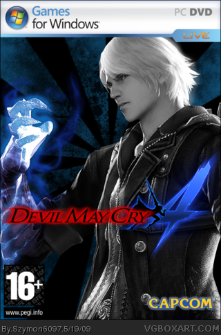Devil May Cry 4 Pc Box Art Cover By Szymon6097