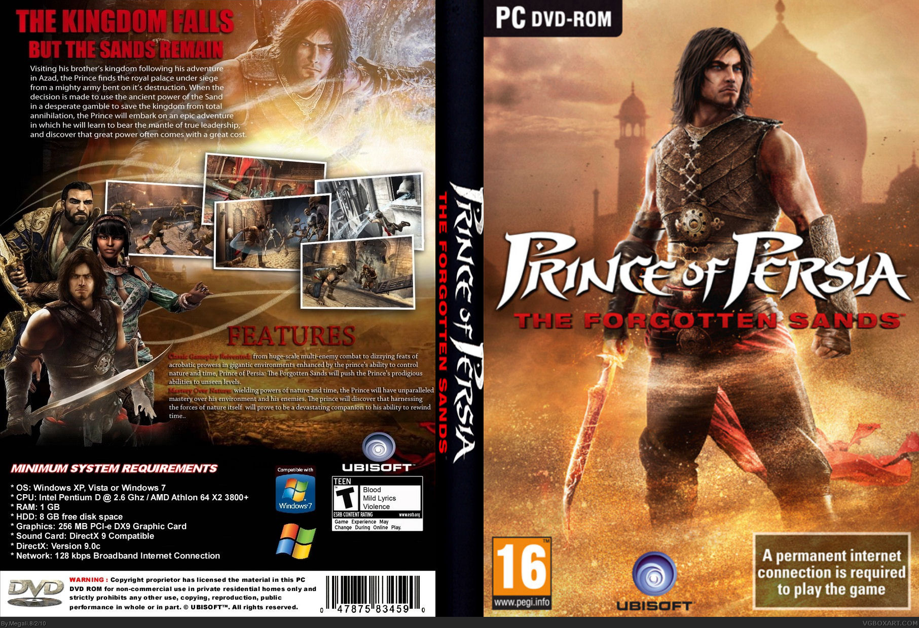 Prince of persia the forgotten sands cd