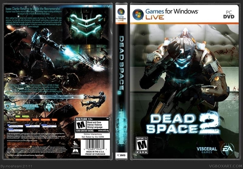 Book Cover Printable Xbox One ~ Viewing full size dead space box cover