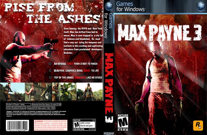 Max Payne 3 Pc Box Art Cover By Alirezaart