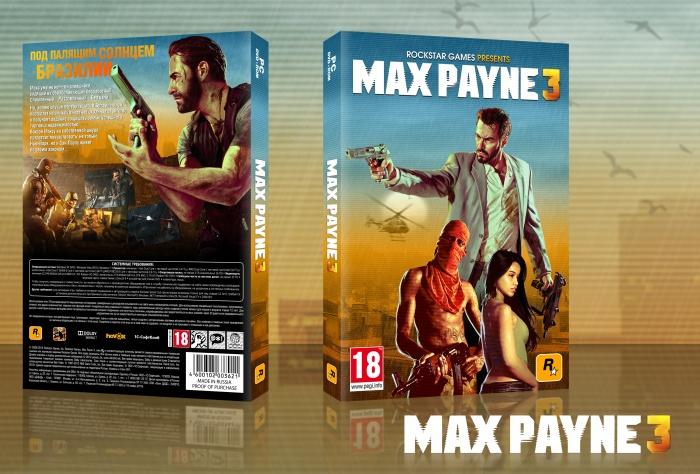 Max Payne 3 Pc Box Art Cover By Parado Ox