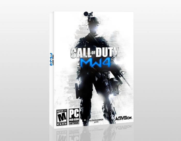 Call Of Duty: Modern Warfare 4 PC Box Art Cover by Dark ...