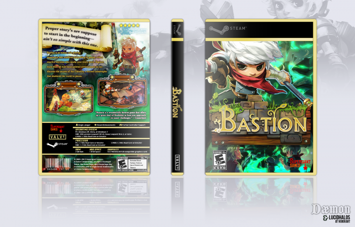 Bastion PC Box Art Cover by lucidhalos