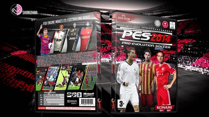 Pro Evolution Soccer 2014 PC Box Art Cover by shirazihaa