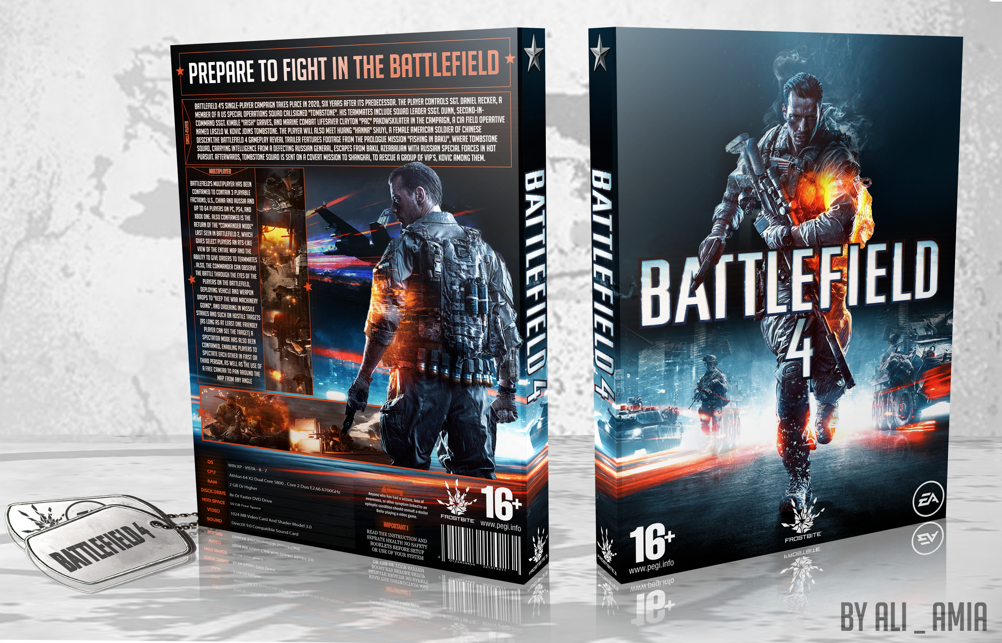 Battlefield 4 box cover