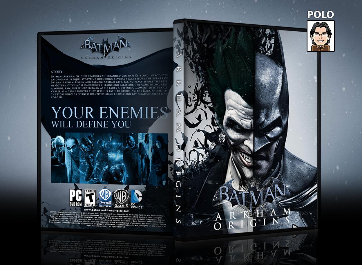 Batman Arkham Origins Cover Batman Arkham Origins ...