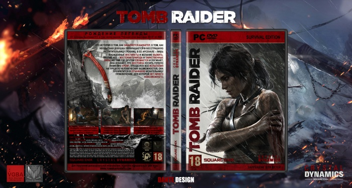 Tomb Raider 2013 Pc Box Art Cover By Dante Design