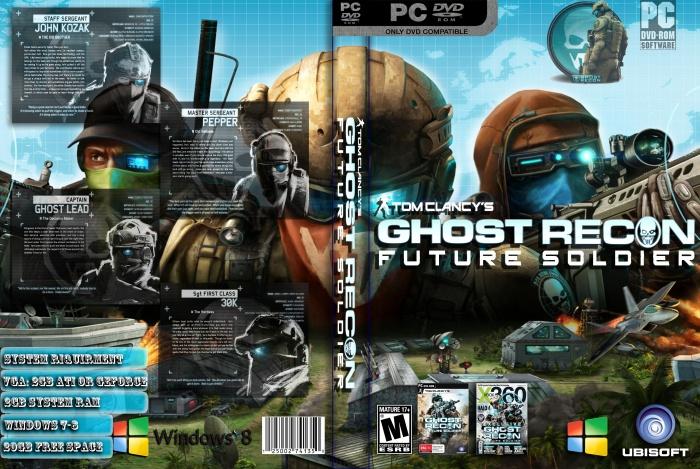 Room Cover Ghost Recon Ghost Recon Future Soldier Wii: Tom Clancy's Ghost Recon: Future Soldier PC Box Art Cover