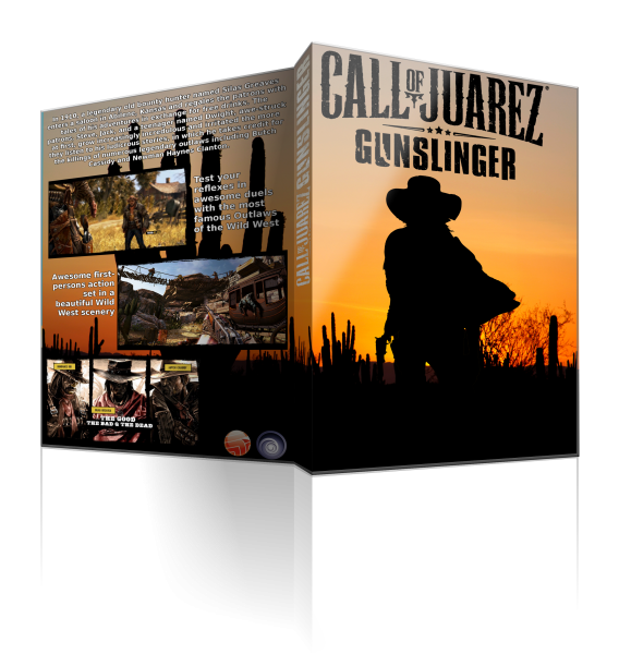 Call Of Juarez Gunslinger Pc Box Art Cover By Megacheater208