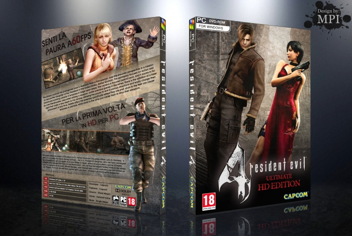 Resident Evil 4 Ultimate Hd Edition Pc Box Art Cover By Mpi