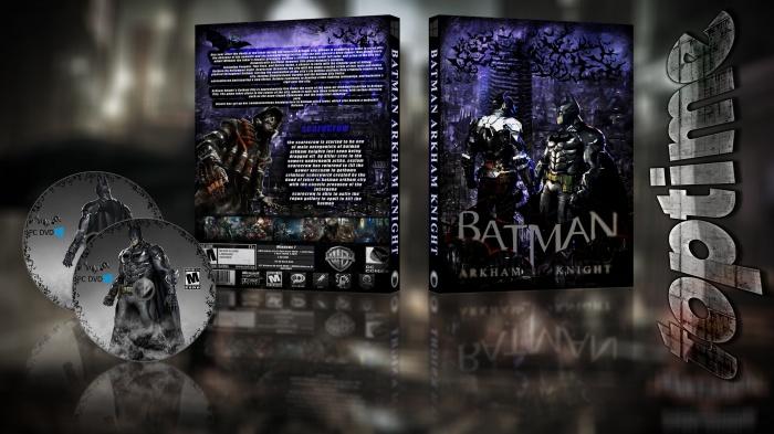 Batman Arkham Knight PC Box Art Cover by *toptime*