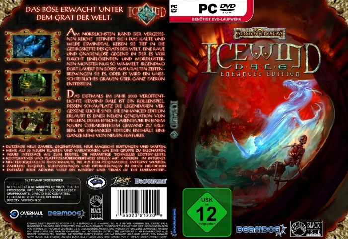 Icewind Dale Enhanced Edition PC Box Art Cover by AHO