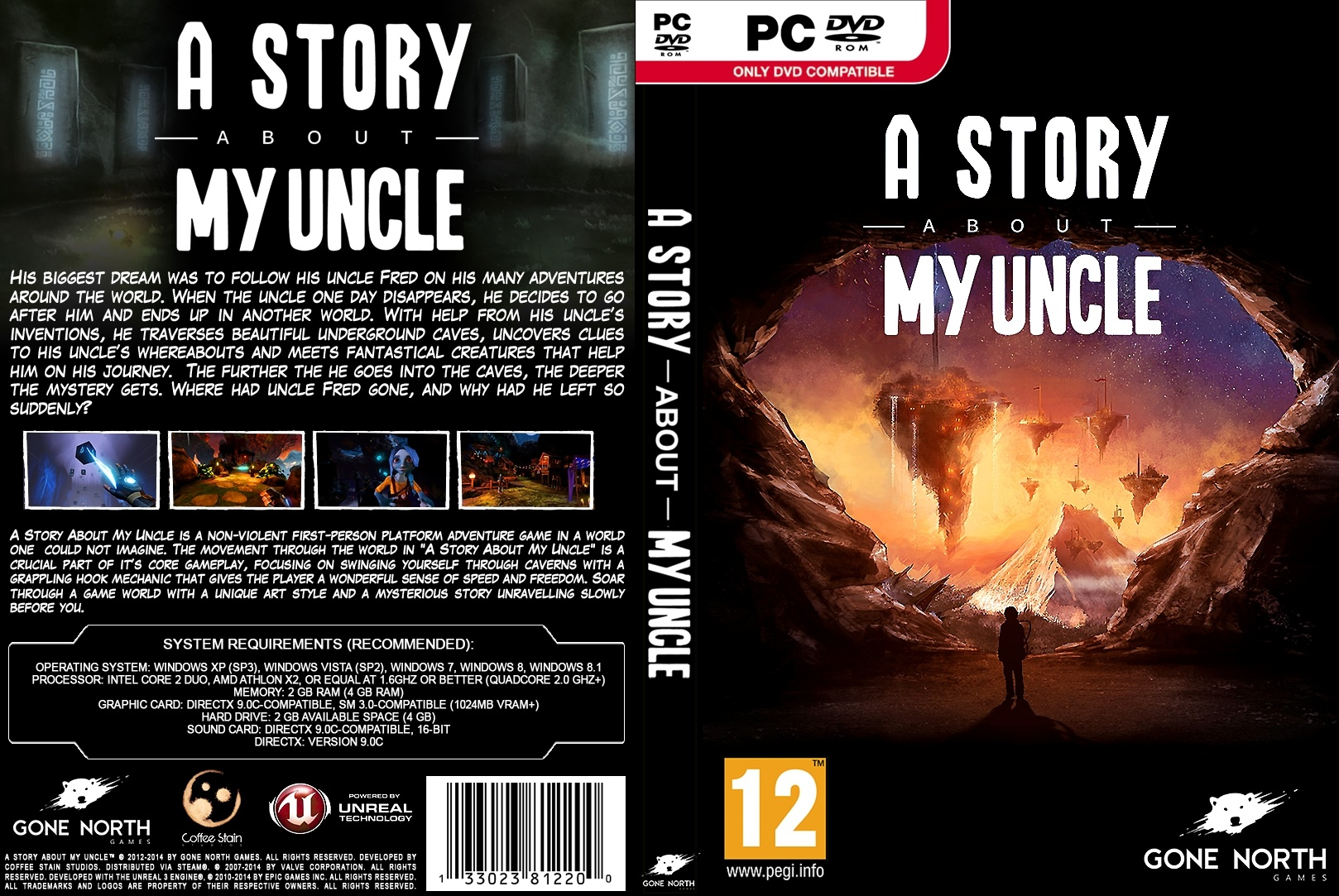 A Story About My Uncle Pc Box Art Cover By Aho